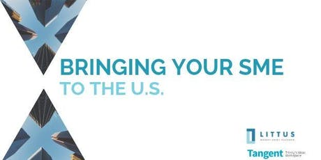 Bringing Your SME to the U.S. tickets