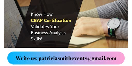 Certified Business Analysis Professional (CBAP®) Certification Training in Columbus, OH