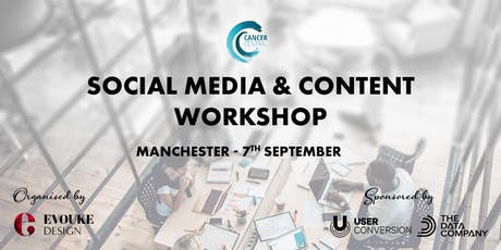 Social Media and Content Workshop tickets