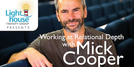 Working at Relational Depth With Mick Cooper tickets
