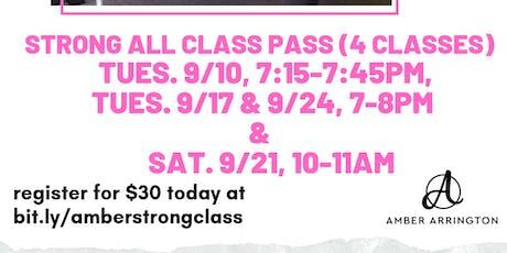 Strong by Zumba Class Pass tickets