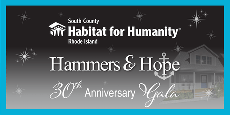 Habitat for Humanity Hammers & Hope 30th Anniversary Gala tickets