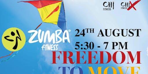 ZUMBA for Merdeka (90 mins)