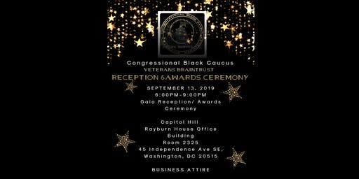 Congressional Black Caucus Veterans Braintrust Reception & Awards Ceremony
