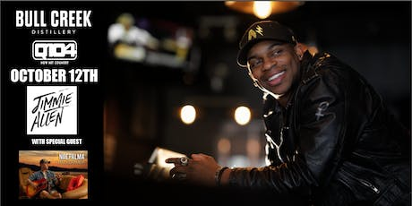 Jimmie Allen LIVE at Bull Creek Distillery with special guest Noe Palma tickets