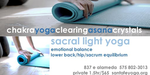 SACRAL LIGHT YOGA | Emotional Balance & Lower Back/Hip Ease