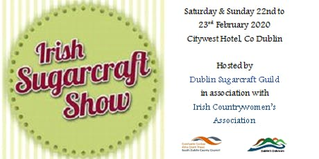 Irish Sugarcraft Show 2020 tickets