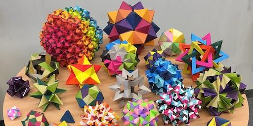 Hommocks Modular Origami CLUB - a STEM Alliance Fall 2019 Program LR