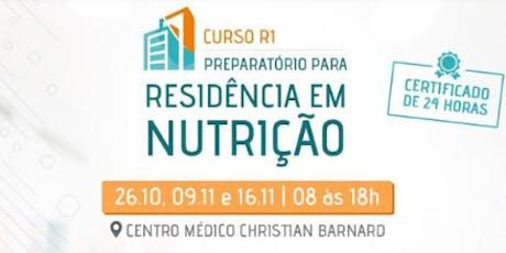 Curso R1 - Preparatório para Residência em Nutrição ingressos