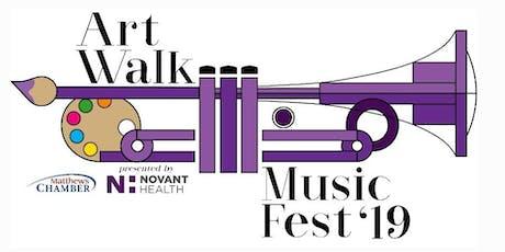 ArtWalk and MusicFest of Matthews tickets
