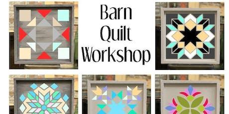 DIY Wood Barn Quilt Workshop Saturday Sept 7 tickets