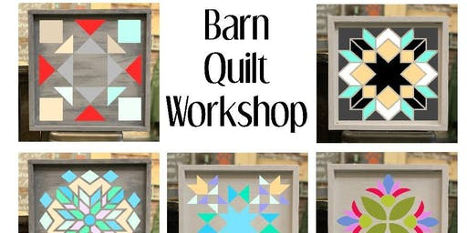 DIY Wood Barn Quilt Workshop