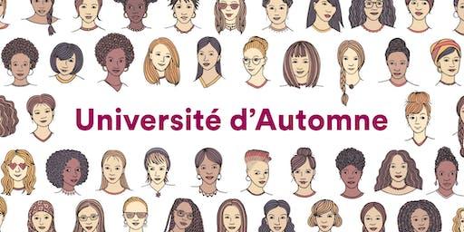 Université d'Automne du Conseil des Femmes