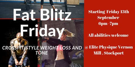 Fat Blast Friday - Exercise class crossfit style burn class tickets