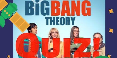 Big Bang Theory Quiz tickets