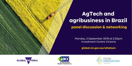 AgTech and Agribusiness in Brazil: current trends and future opportunities tickets