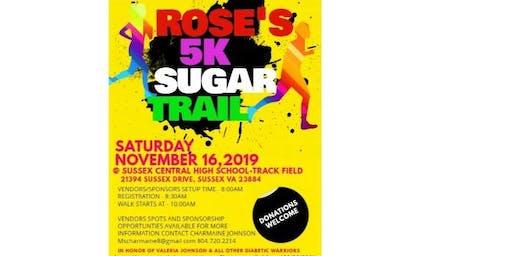 Rose's 5K Sugar Trail
