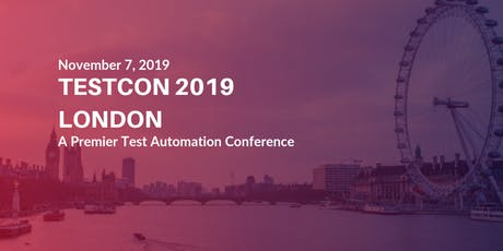 Software Test Automation Conference | Testcon London tickets