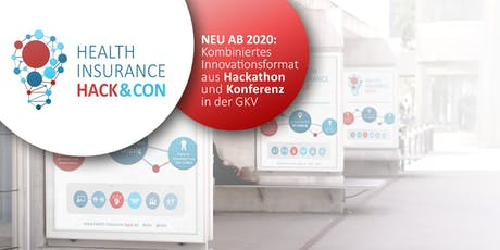 HEALTH INSURANCE HACK&CON 2020 - Krankenkassen-Hackathon Tickets