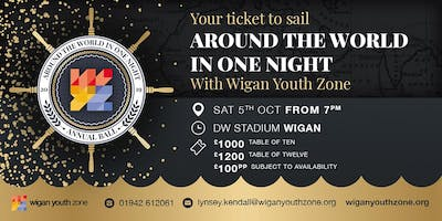 Wigan Youth Zone Annual Ball