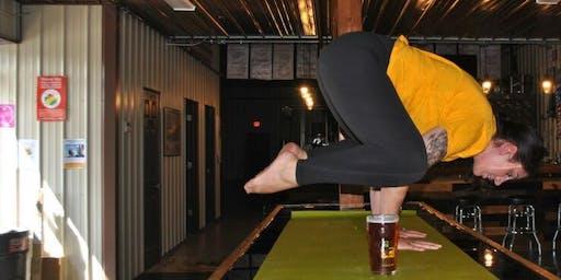 Sip & Stretch Yoga 9/28