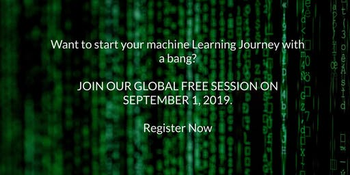 Start your Machine Learning Journey with a bang? (Free session Hurry up)