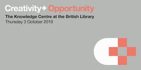 Creativity+ Opportunity tickets