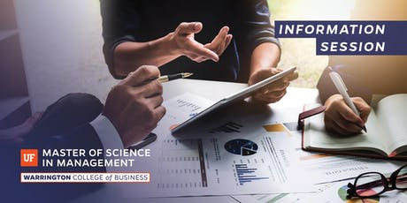 UF Master of Science in Management (MSM) Information Session tickets
