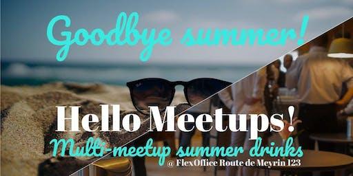 Joint end of summer meetup