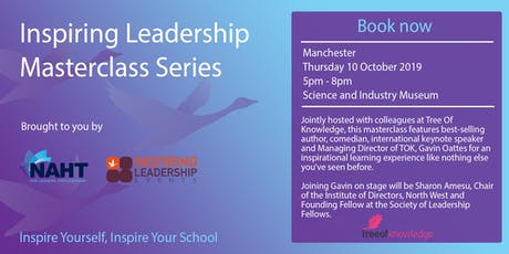 Inspiring Leadership Masterclass Series  tickets