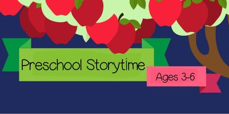 Preschool Storytime tickets