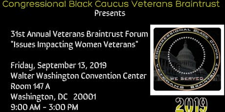 Congressional Black Caucus Veterans Braintrust Forum tickets