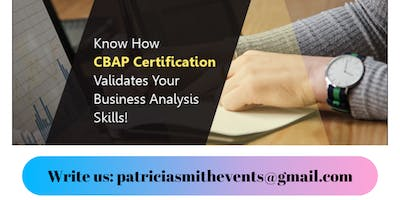 Certified Business Analysis Professional (CBAP®) Certification Training in Salt Lake City, UT