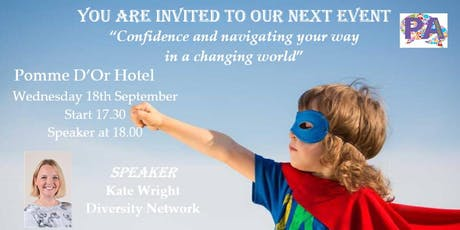 Confidence and navigating your way in a changing world tickets