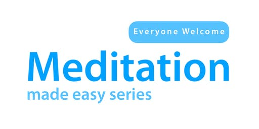 Half-day Course: MEDITATION MADE EASY (Beeston)