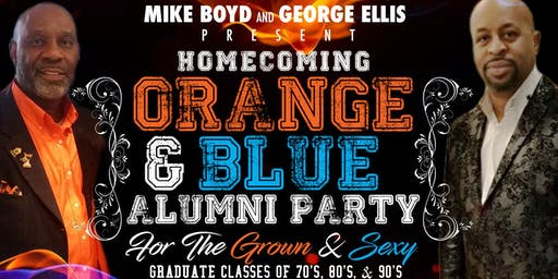 Homecoming Orange and Blue 2019