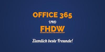 FHDW & Office 365 – Ziemlich beste Freunde!