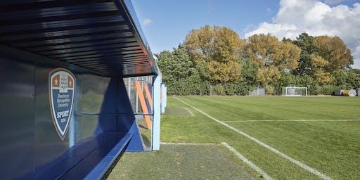 MMU Sport Men's Football Club Trials