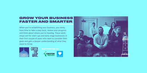 Grow your business faster and smarter, 17 October - Catch the Wave