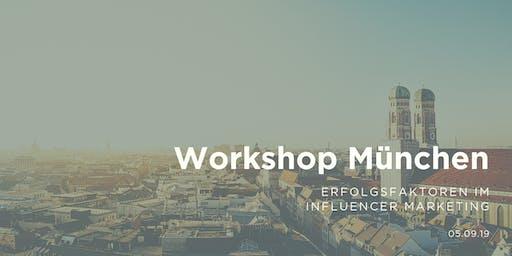 Workshop - Erfolgsfaktoren im Influencer Marketing   BASE, München
