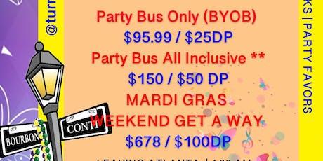 ROLL CALL! Mardi Gras 2020 tickets
