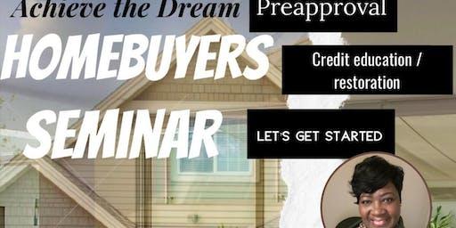 Achieve your Dream (Home Buyers Seminar
