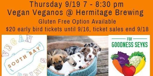September Vegan Food, Friends, Beer & Adoptable Dogs