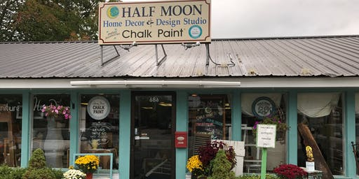 Half Moon Home Decor and Design Studio - Paint your Piece