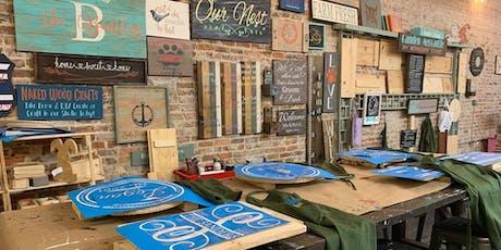 DIY Wood Sign Workshop tickets