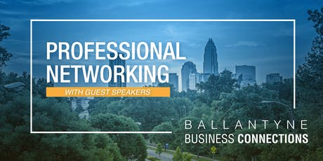 Ballantyne Business Connection: Sept Networking Meeting tickets