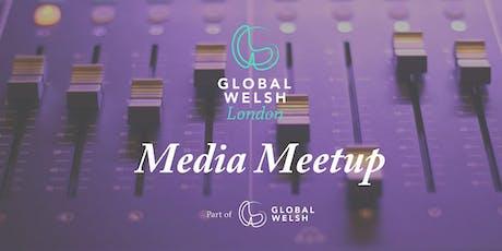 GlobalWelsh London - media meetup tickets