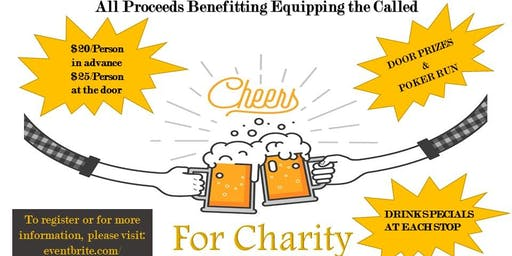 Cheers for Charity-Benefiting Equipping the Called