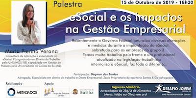 eSocial e os Impactos na Gestão Empresarial