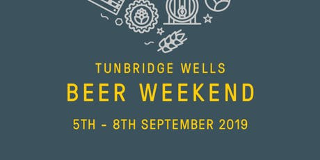 Cheese & Beer Pairing for Tunbridge Wells Beer Weekend tickets